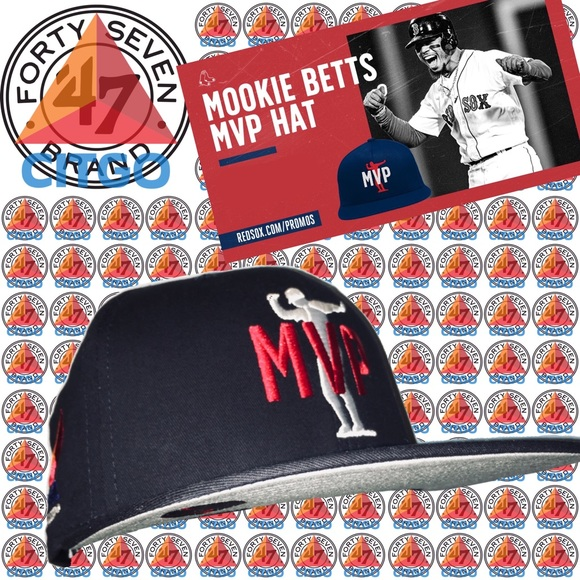 47 Other - '47 Brand Boston Red Sox Citgo Mookie Betts MVP